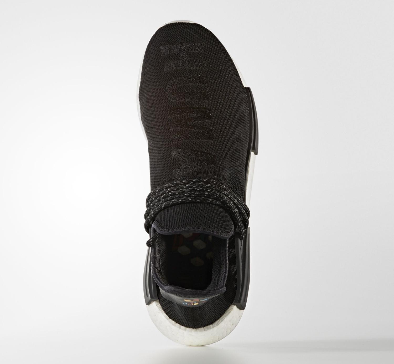 Black Pharrell Adidas NMD BB3068 Top