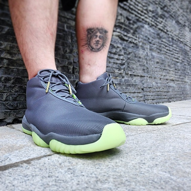 Air Jordan Future 3M Reflective Grey On-Foot (1)