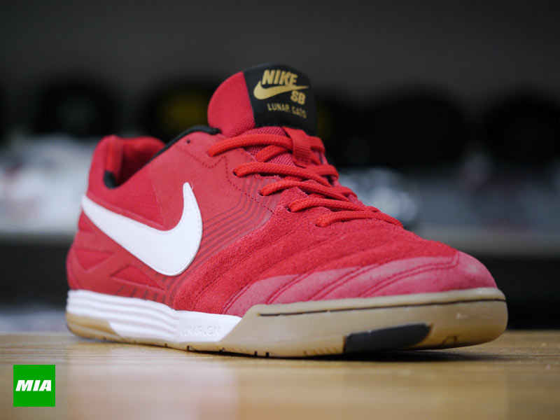 cheap for discount c73d1 afcb7 Nike SB Lunar Gato in University Red