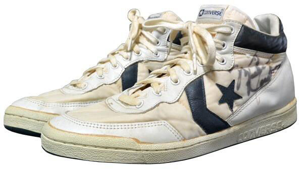 Michael Jordan's Converse Shoes from 1984 Olympic Gold Medal Game (1)