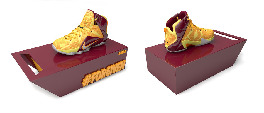 Nike LeBron 12 'Homecoming King' Concept by Chris Darmon (3)