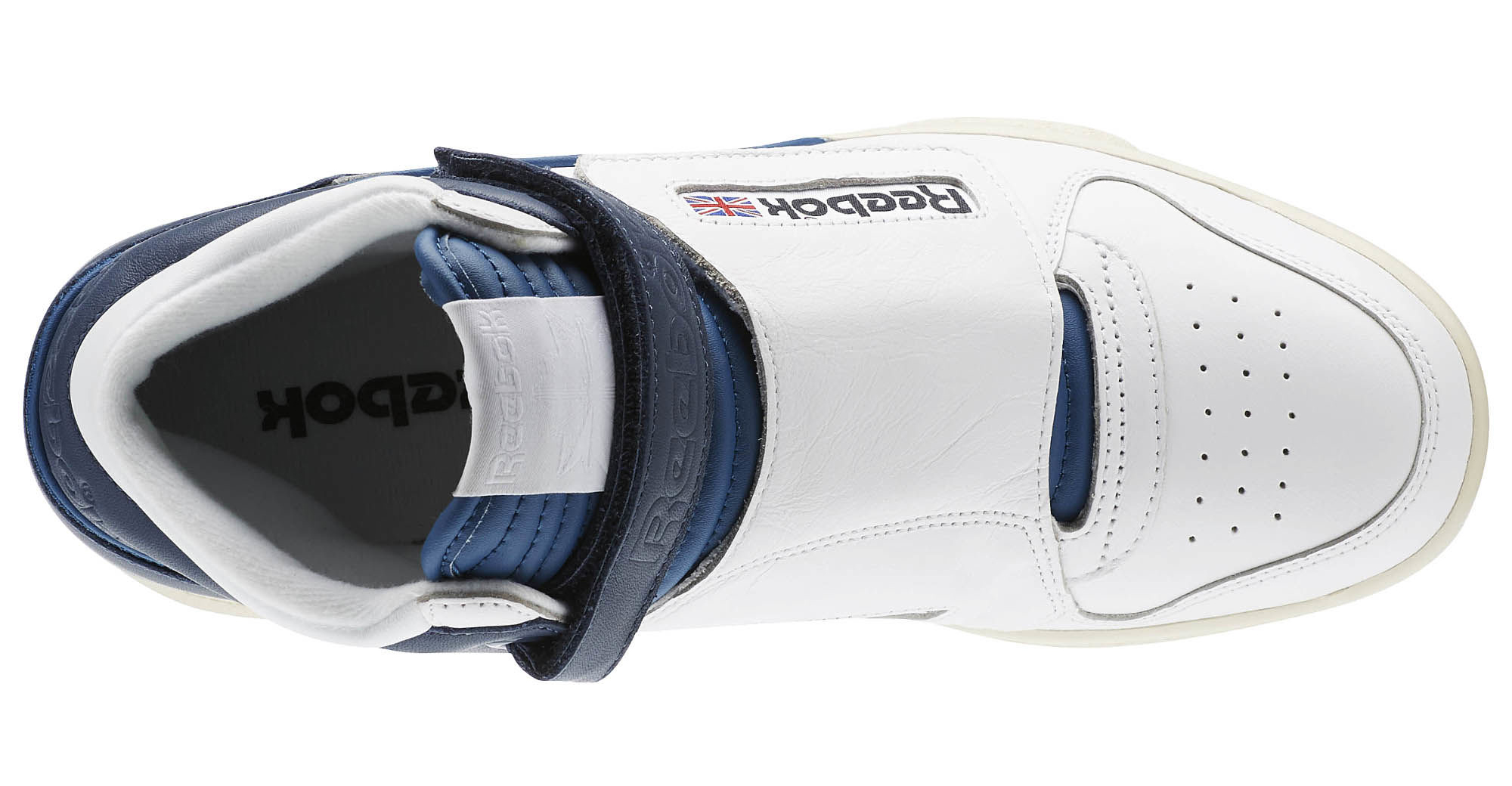 Reebok Alien Stomper Mid Navy White Top