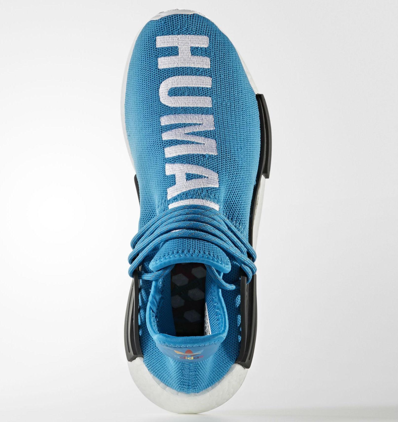 Blue Pharrell adidas NMD Human Race Top