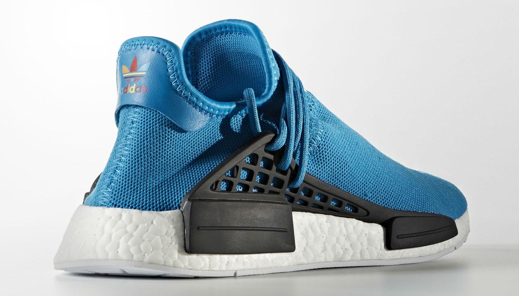 b45eb1290 Blue Pharrell adidas NMD Human Race Lateral