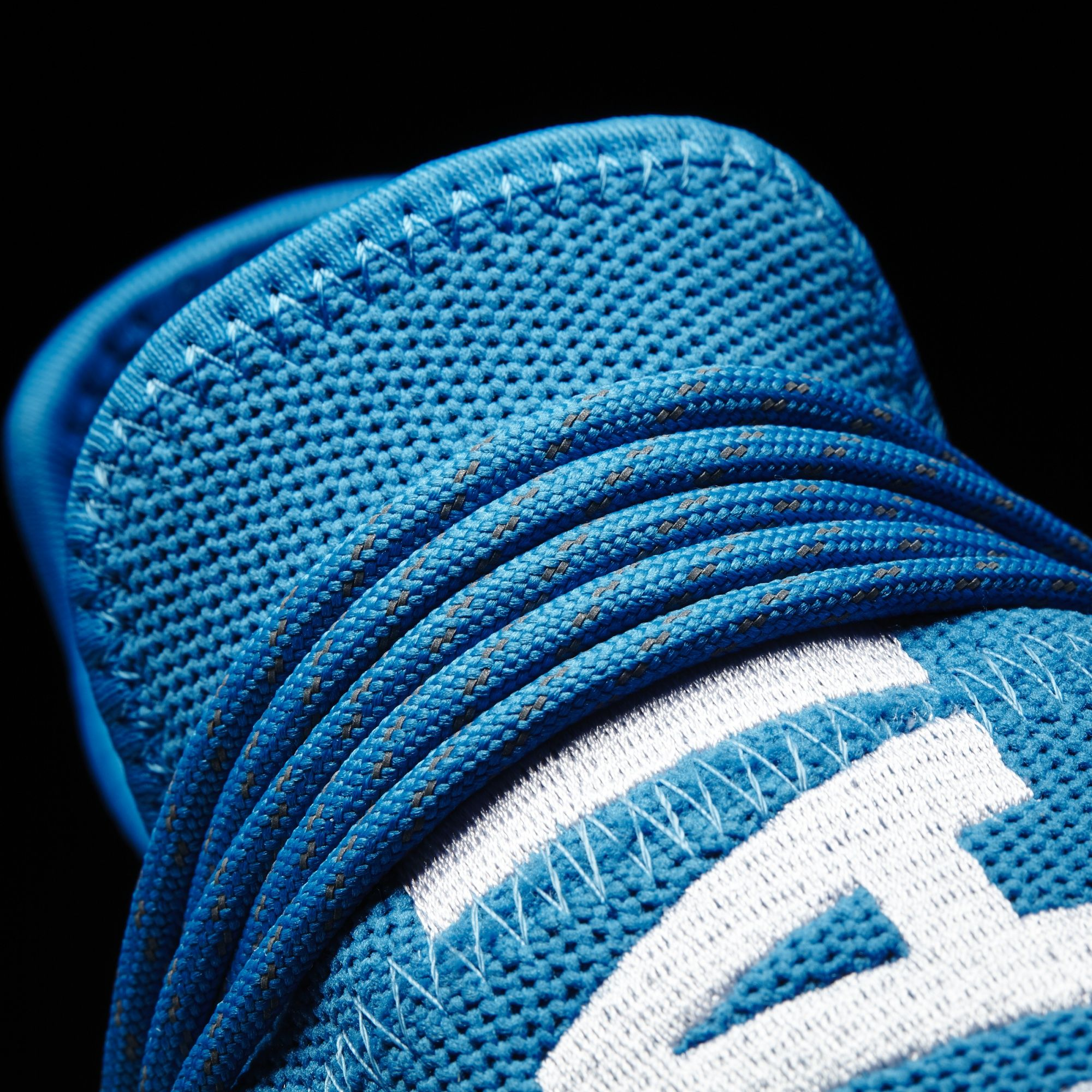 Blue Pharrell adidas NMD Human Race Lace