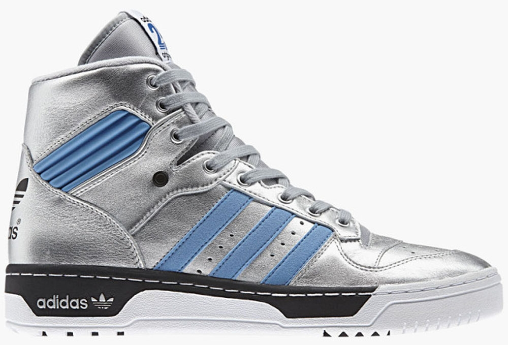adidas Originals Rivalry Hi Silver/Blue-Black