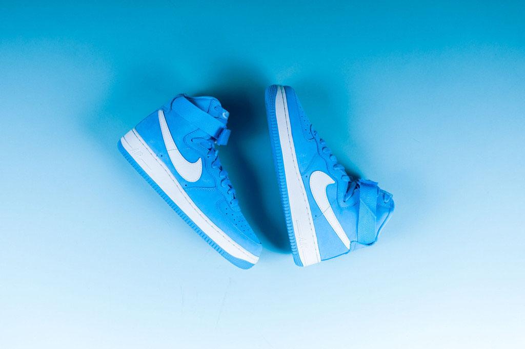 ab9d33feb4ef Nike Air Force 1 High University Blue 743546-400 (2)