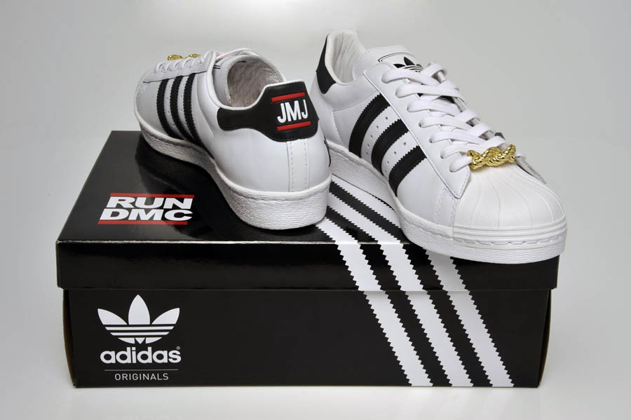 "adidas Originals Superstar 80s - Run DMC ""My adidas"" 25th Anniversary 27"