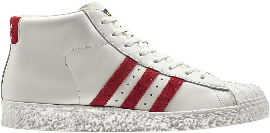 promo code ab720 ac9e0 adidas Superstar Pro Model OG White Red (1)