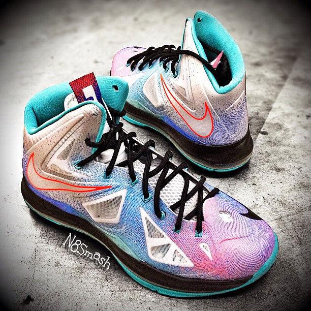 wholesale dealer 95fdd 207e4 Nike LeBron X Pure Platinum 541100-008 (1)