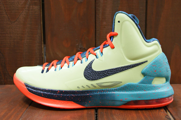 big sale ed860 4290c Kevin Durant will take part in his fourth career NBA All-Star game in this  all new Area 72 inspired KD V by Nike Basketball.