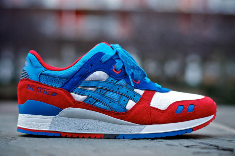 tenis asics gel lyte 3 red