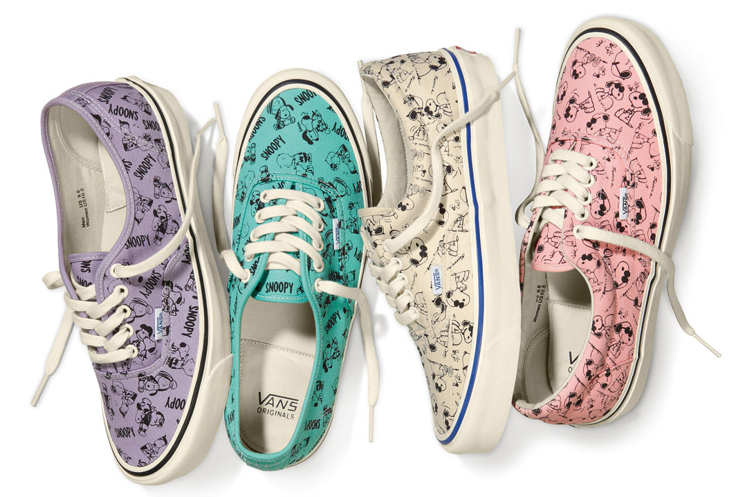 Peanuts x Vans Vault Collection