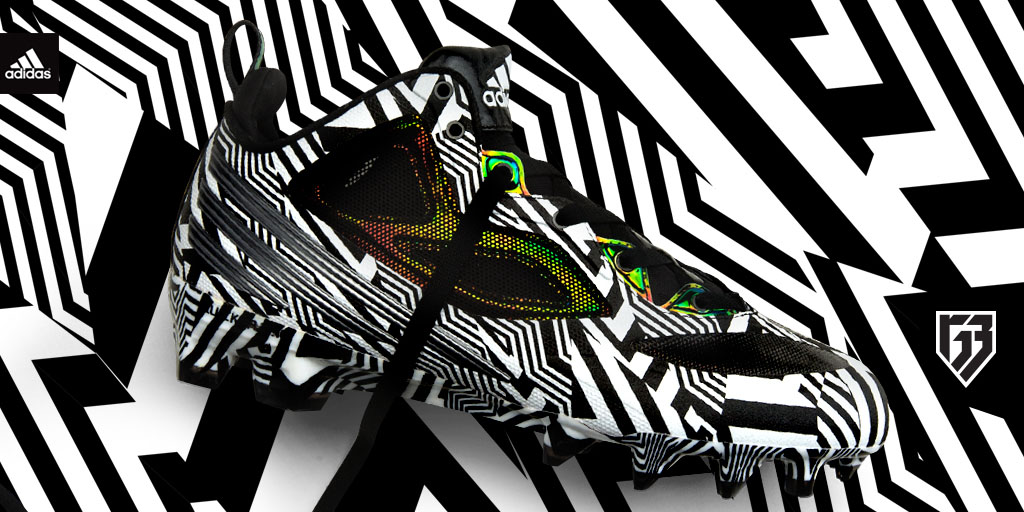 RG3's Signature adidas Cleat in Carmouflage (1)