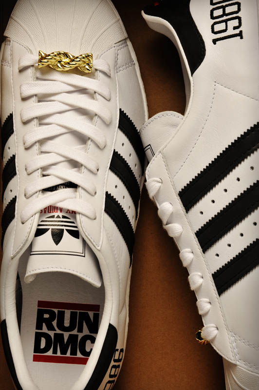"adidas Originals Superstar 80s - Run DMC ""My adidas"" 25th Anniversary 22"