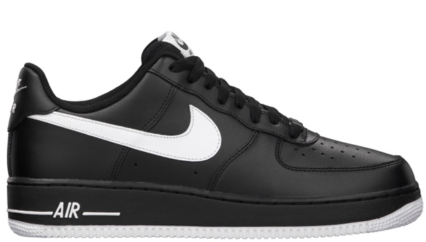 Nike Air Force 1 Low Black/White-Black