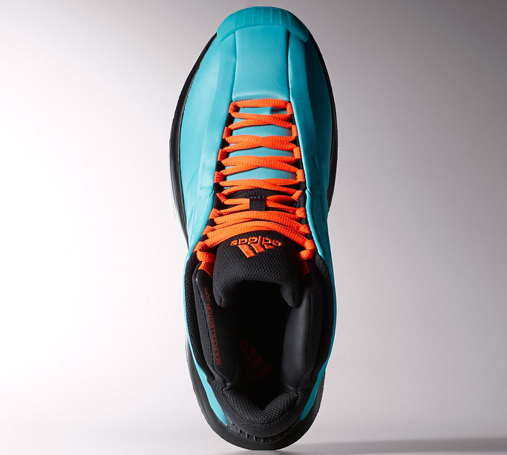 adidas Crazy 1 Teal/Orange (2)