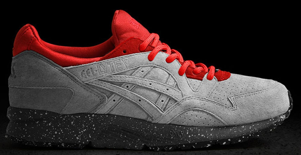 Asics Gel-Lyte V Cement Grey/Red