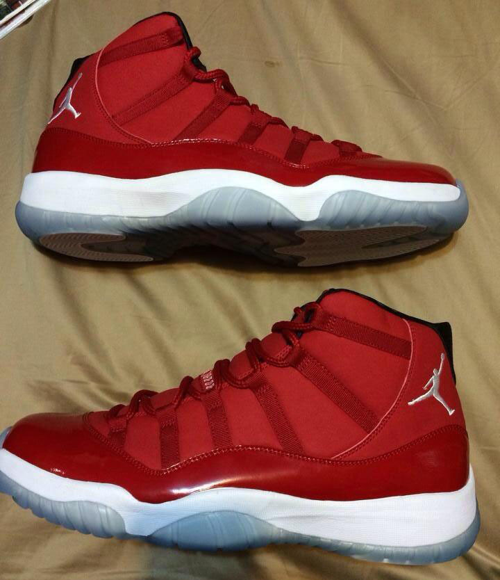 jordan xi all red