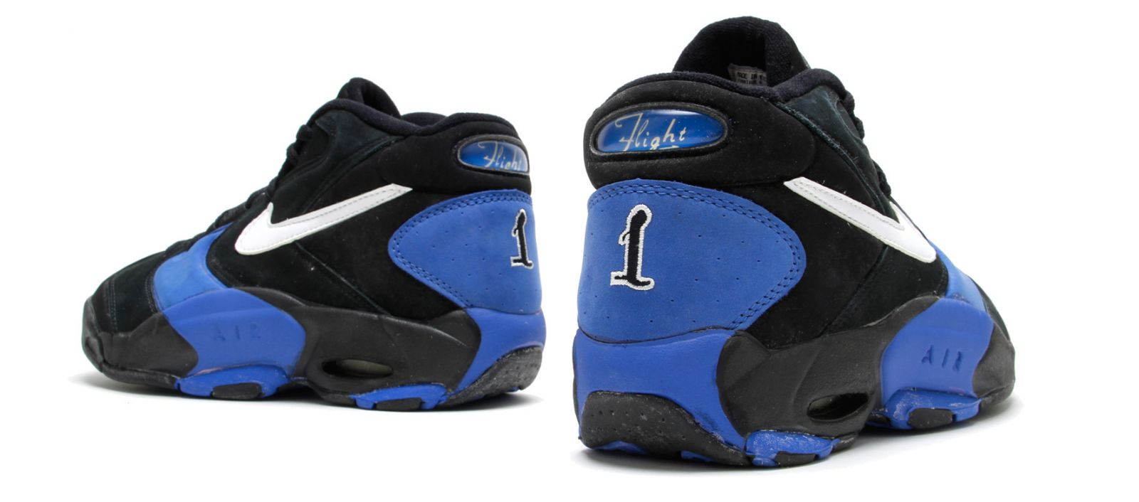 quality design c1048 8ddc4 Nike Air Up - (OG) - Black  Varsity Blue