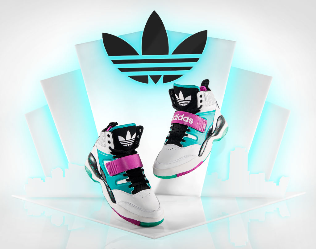 adidas Originals Hackmore Running White Vivid Pink Black G59952 (1)
