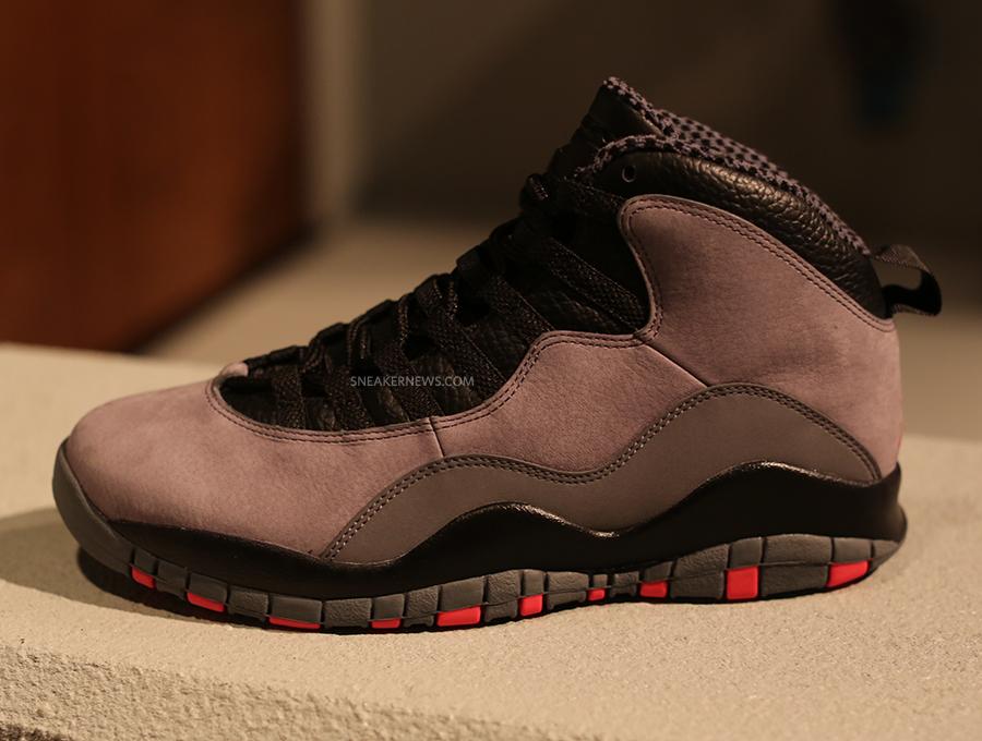 the best attitude 58cf3 27a2f Air Jordan 10 Retro  Cool Grey Infrared-Black     First Look