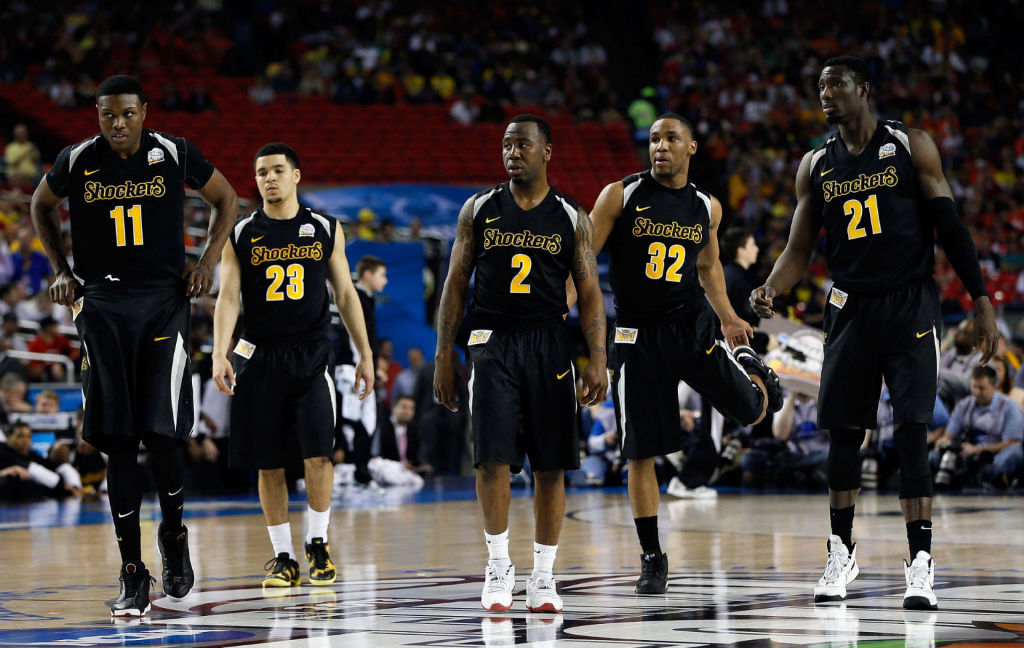 Wichita State Shockers wearing Nike Basketball / Jordan Brand