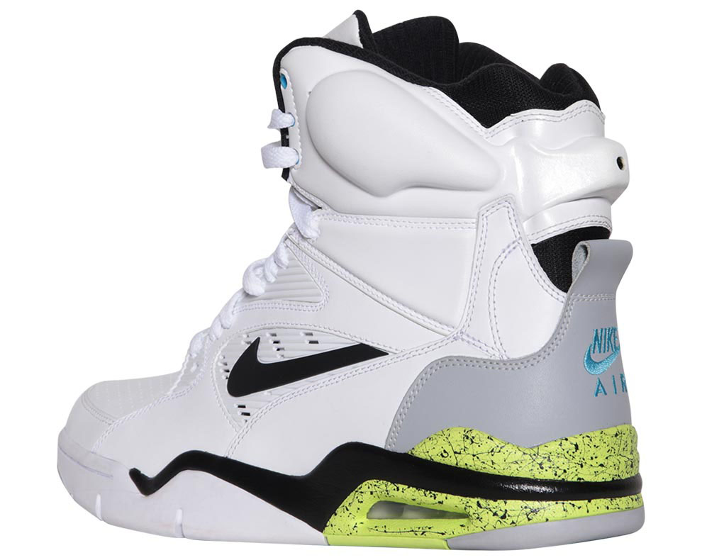 Nike Air Command Force White/Wolf Grey-Volt-Black Billy Hoyle Release Date 684715-100 (4)