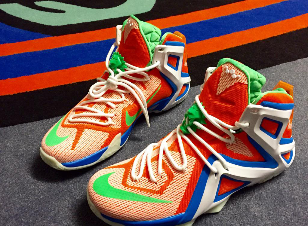 cca7987361f free shipping lebron 12 colorful wale 389c5 9d560