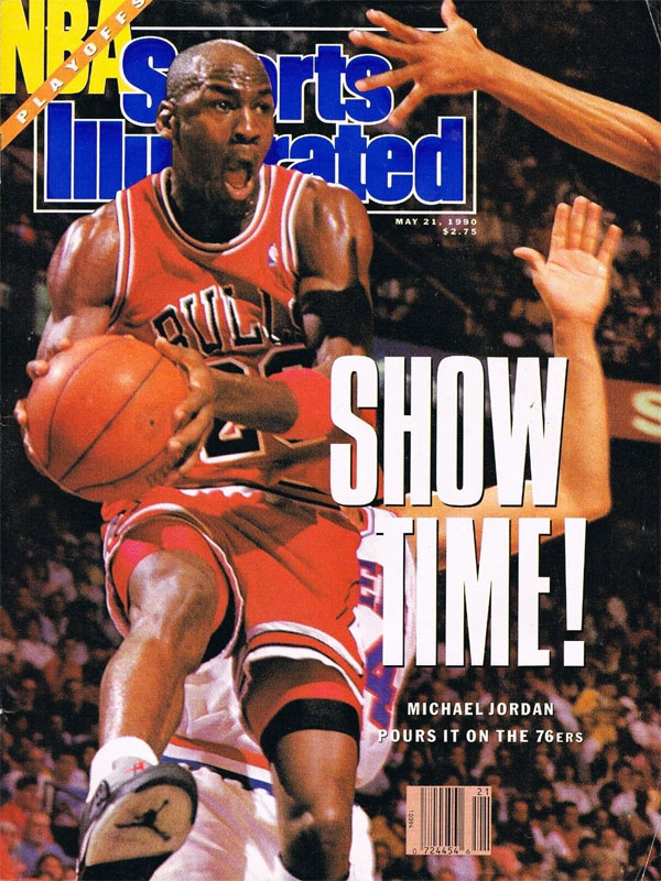 f46637b1e668 Michael Jordan Wears Air Jordan V 5 Metallic on May 1990 Sports Illustrated