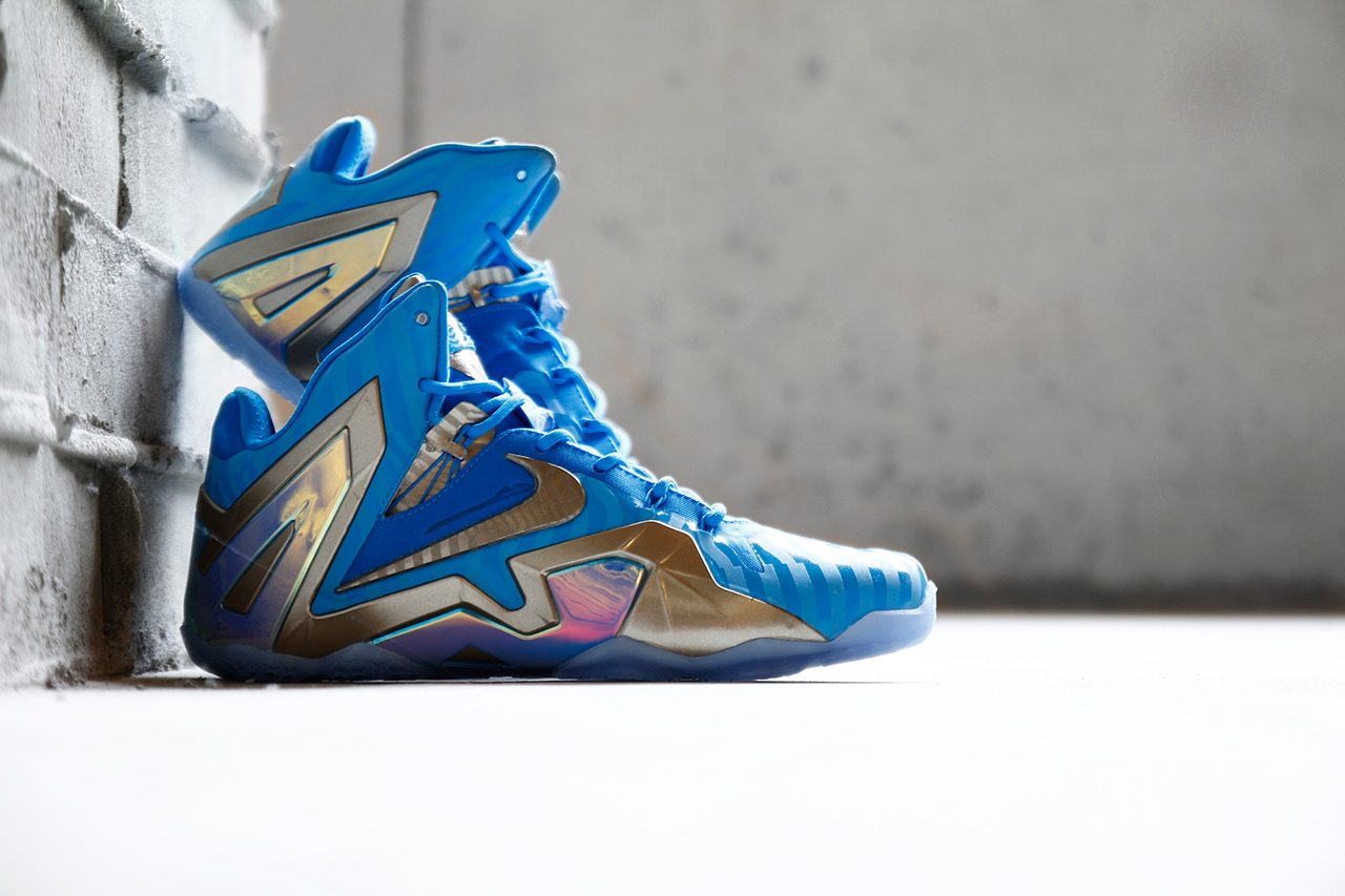 Nike LeBron 11 Elite Blue 3M