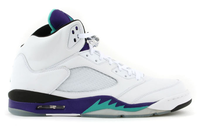 Air Jordan V 5 Grape 2013 Release 136027-108