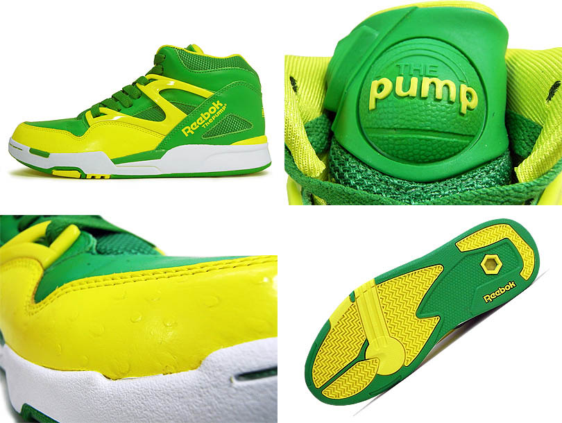 74e0b1cfe84 Reebok Pump Omni Lite Hero Green Yellow White J12420 (4)