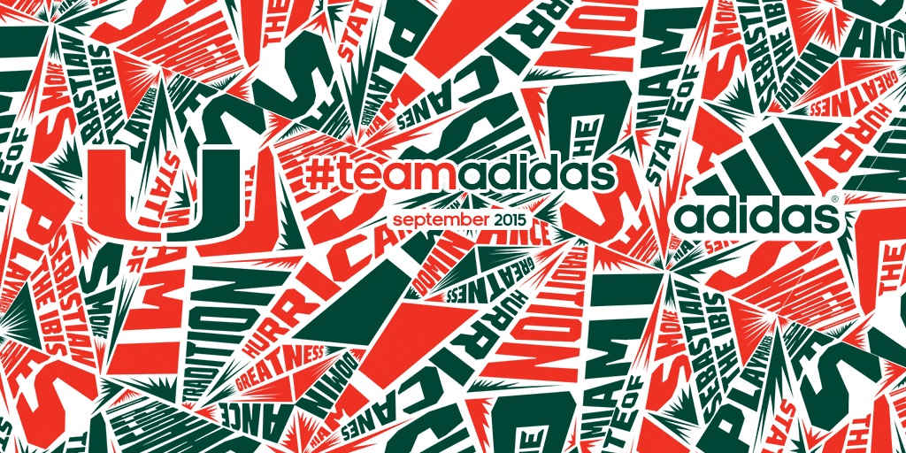 Adidas And The University Of Miami Announce 12 Year Partnership