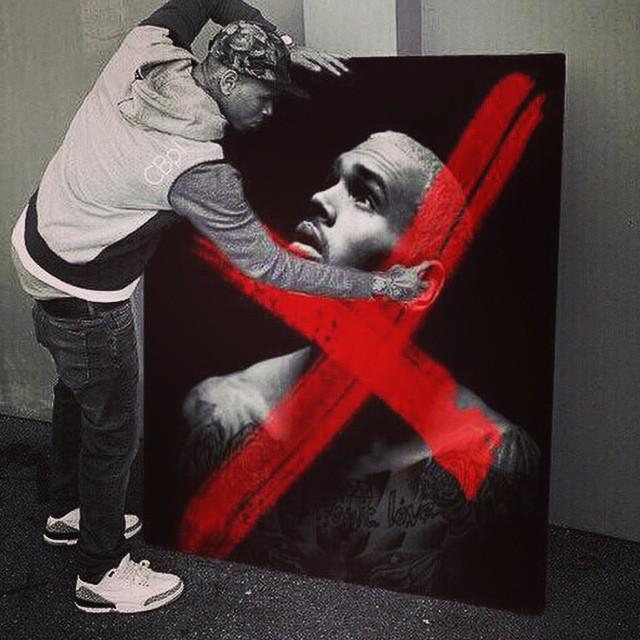 Celebrity Sole Watch: 9.13.14   Sole Collector X Album Cover Chris Brown