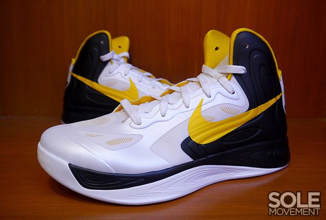 low priced e02d2 c1b8a ... spain nike zoom hyperfuse 2012 white university gold black 525022 103 1  06ddd 84847