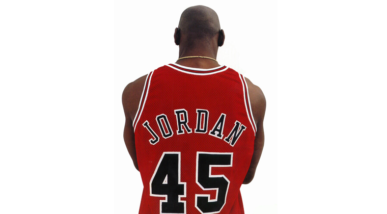 wholesale dealer 19b66 22a0e Michael Jordan Number 45 Story | Sole Collector