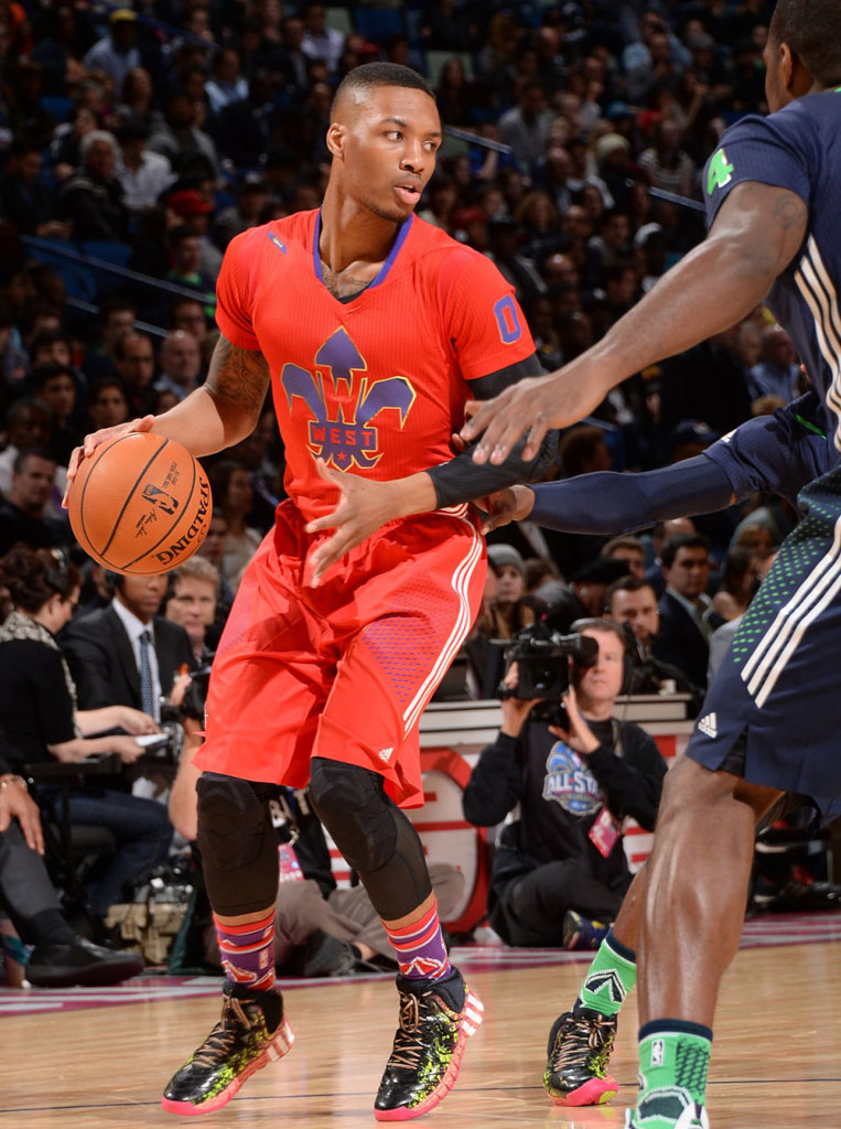 Sole Watch: Damian Lillard's All-Star Weekend adidas ...