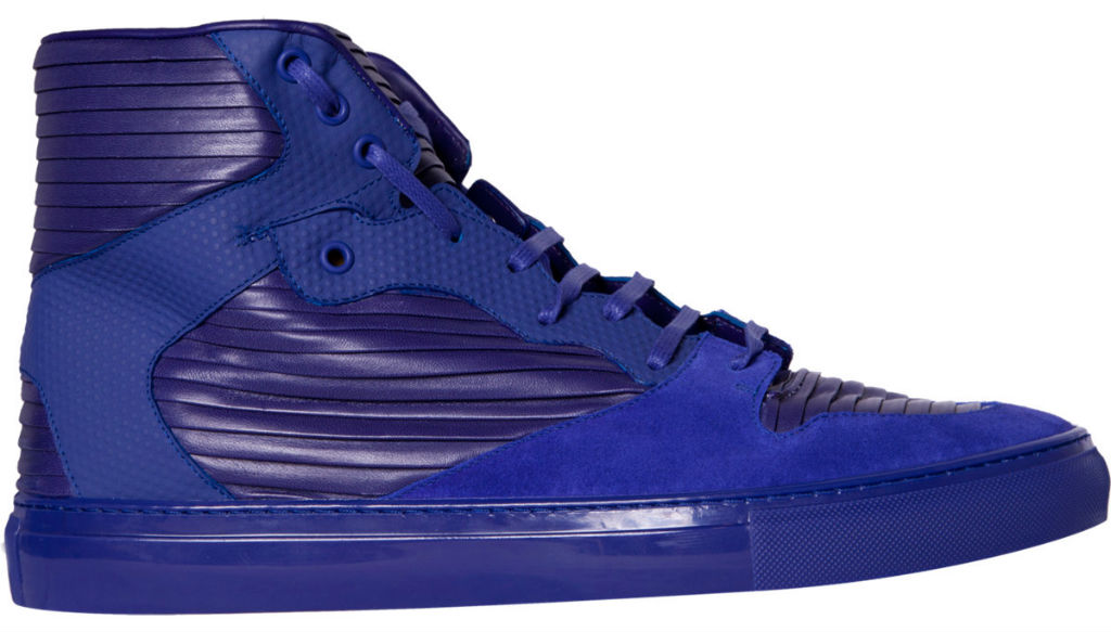Balenciaga Cotes High - Blue - Spring/Summer 2013 (1)