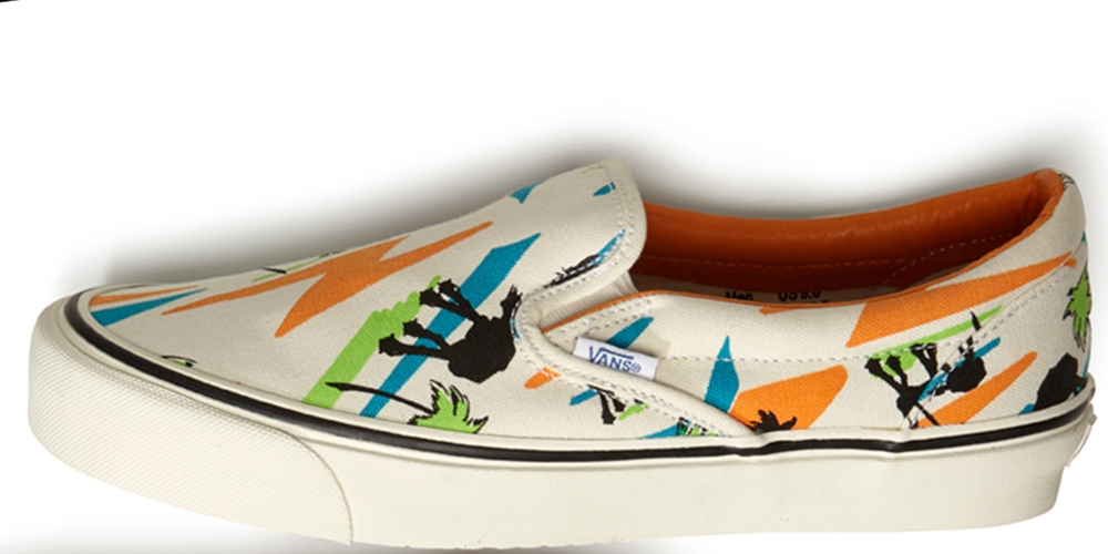 Vans OG Classic Slip-On LX Multi-Color/White