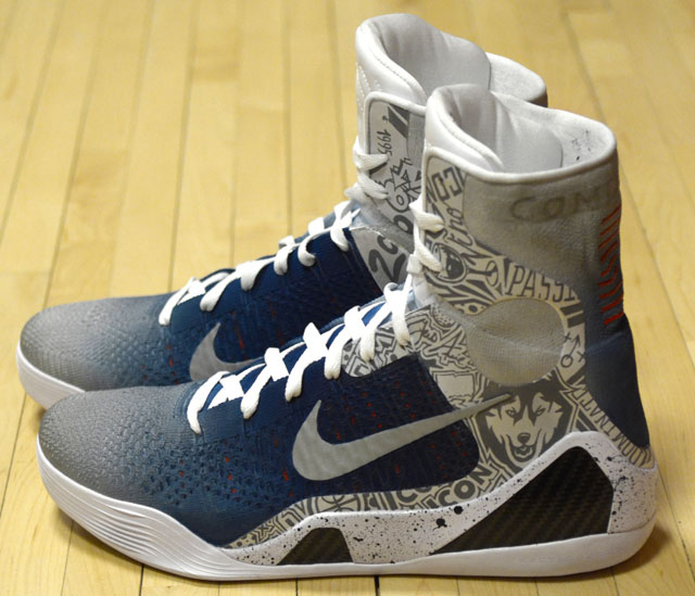 low priced bb36b eedcb Nike Kobe 9 Elite UCONN by Mache. Year  2014. If customizing sneakers is  your ...