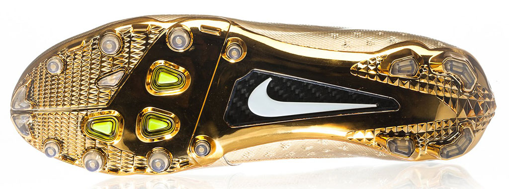 Nike Elite11 Vapor Talon Elite Cleats - Gold (3)