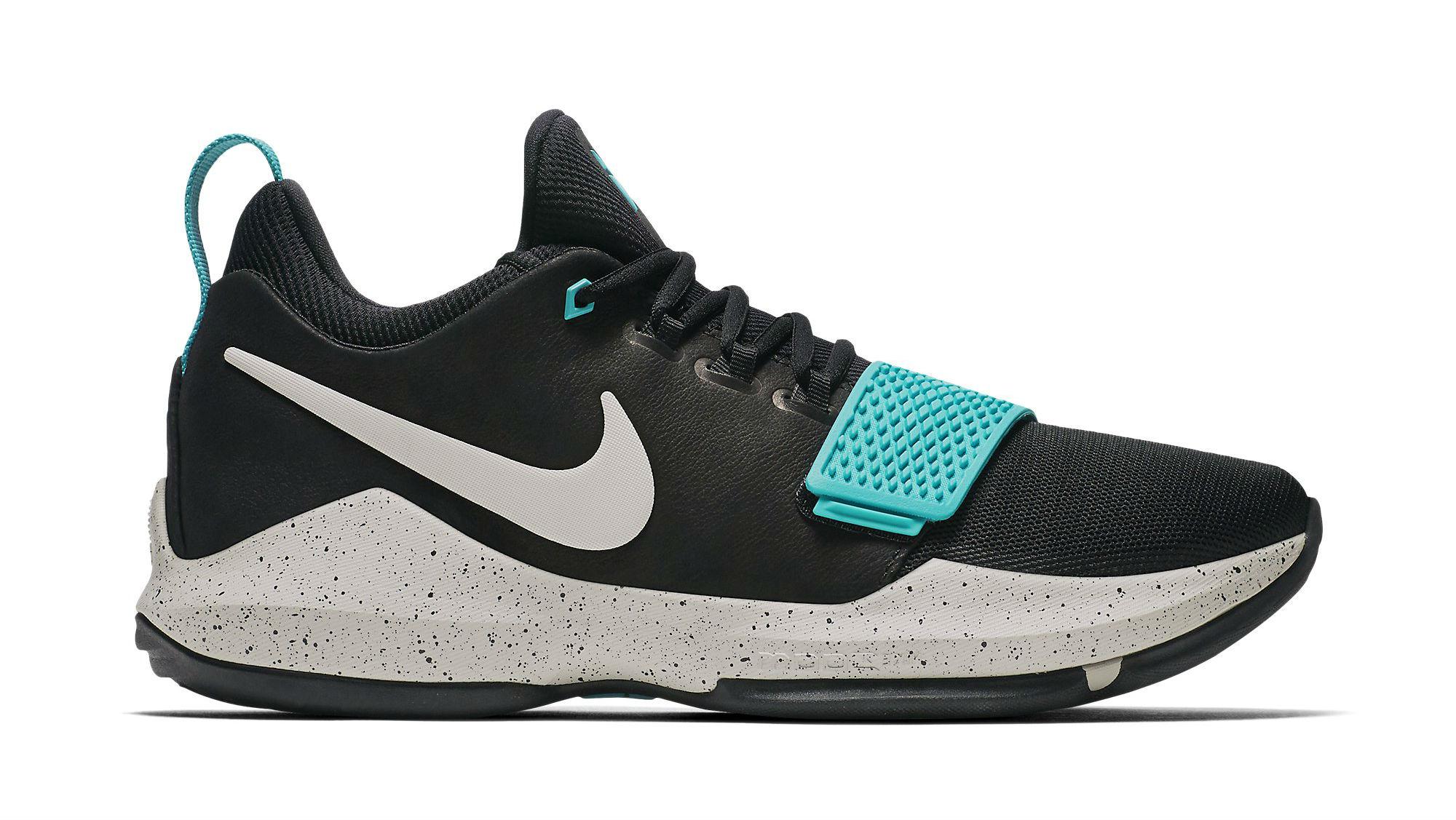 Nike PG 1 Black/Light Bone-Light Aqua