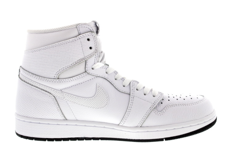 Air Jordan 1 Retro High OG White Black 555088-100 Medial
