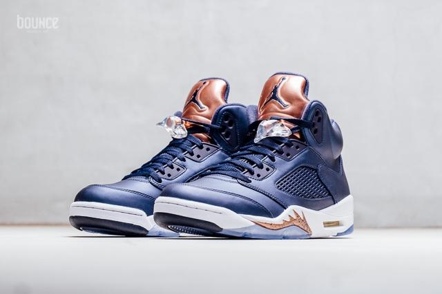 25554c5181b7 Bronze Air Jordan 5 Toe 136027-416