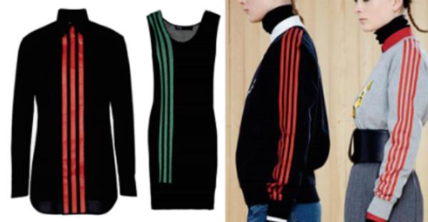 adidas 3-Stripes vs. Marc Jacobs 4-Stripes