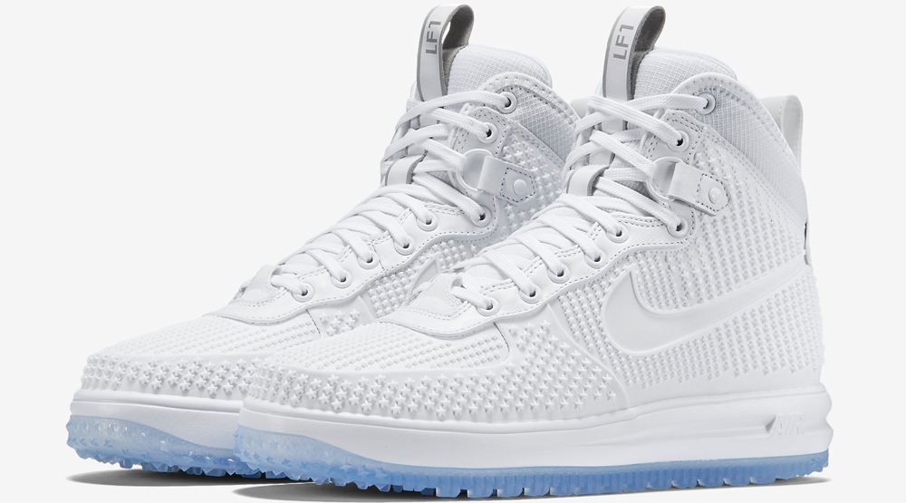 new product 8b01c 3bca6 Nike Lunar Force 1 Duckboot White