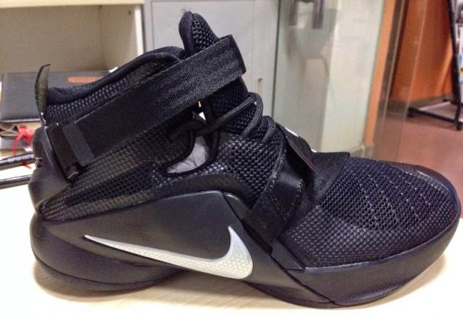 nike lebron soldier 9 all black