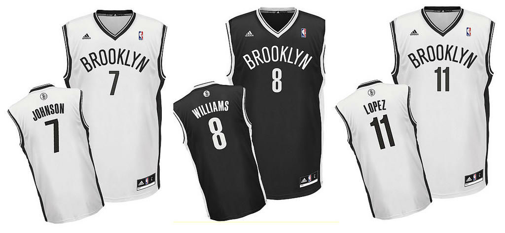 POLL // What Do You Think of the Brooklyn Nets Jerseys?