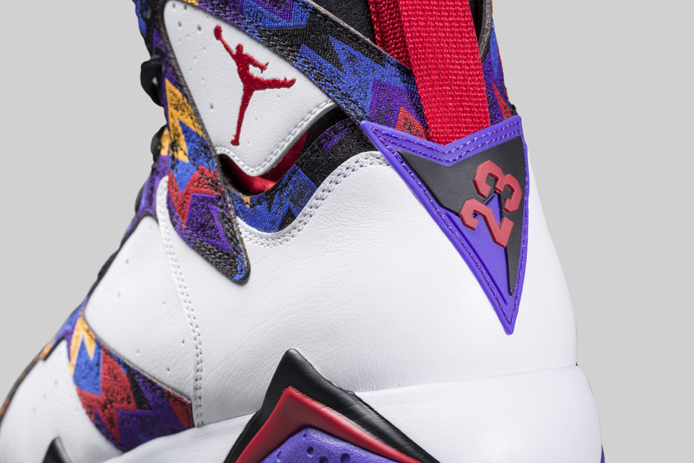 065e86cea413 Check Out the  Nothing But Net  Air Jordan 7 On-Foot